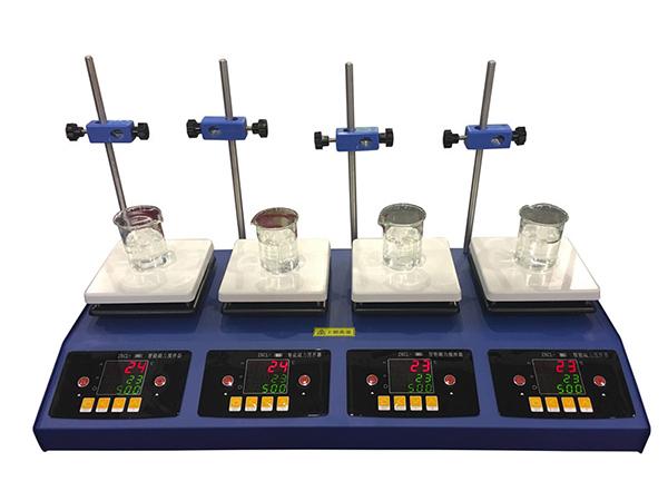 ZNCL-BS-2/4/6数显多联磁力搅拌加热板