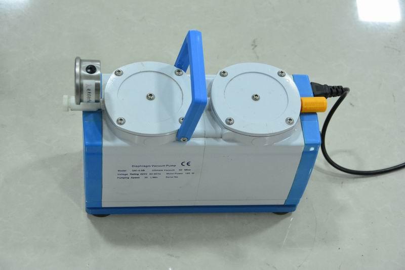 实验室无油隔膜真空泵的优点和使用技巧